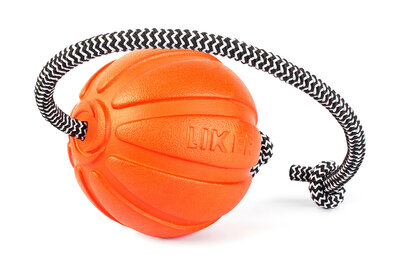 Liker Cord 9 - a ball with a cord for dogs of large breeds